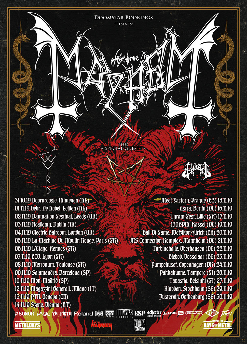 Mayhem  Tour