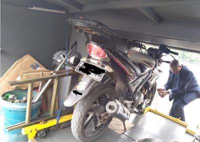 kirim paket sepeda motor