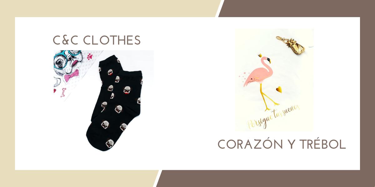 C&C CLOTHES & CORARON Y TRÉBOL