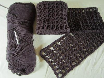 Caron, One Pound, yarn, scarf