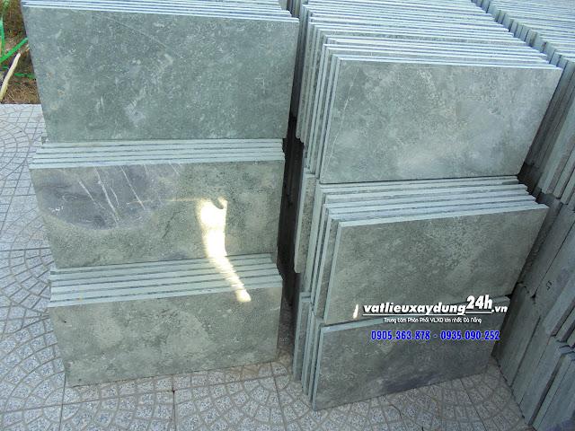Đá xanh rêu băm mặt 30x60 cm