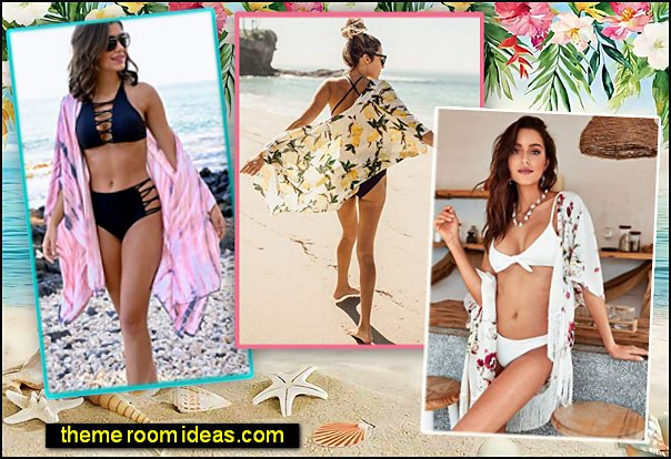Womens Beach Wear Cover up Swimwear Beachwear Bikini Cardigan summer beachwear surf wear bikini cover