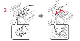 Tutorial Cara Mengisi Tinta Printer Epson L3110 Black & Color Yang Benar Untuk Pemula