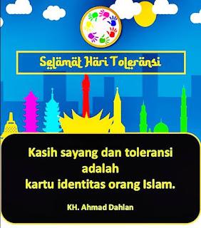 ucapan kata toleransi