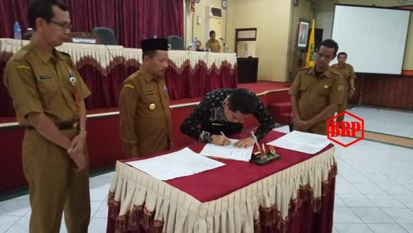 Rapat Paripurna Masa Sidang II Tahun 2019 Tetapkan Tiga Pimpinan DPRD Bartim, Ini Daftar Namanya!