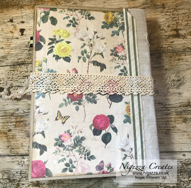 Nigezza Creates My First Junk Journal: Final Part Taking Out A Signature & Finishing Off