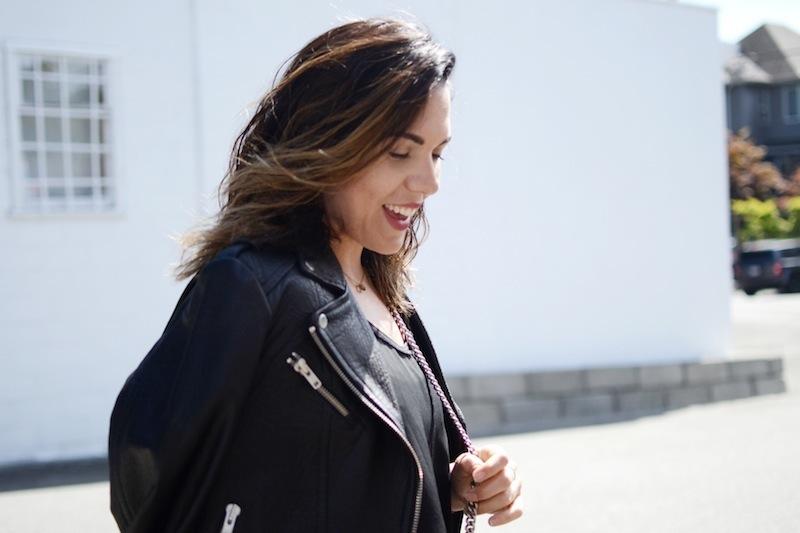Mackage jacket Artizia Topshop jamie jeans Gucci Dionysus bag Vancouver fashion blogger