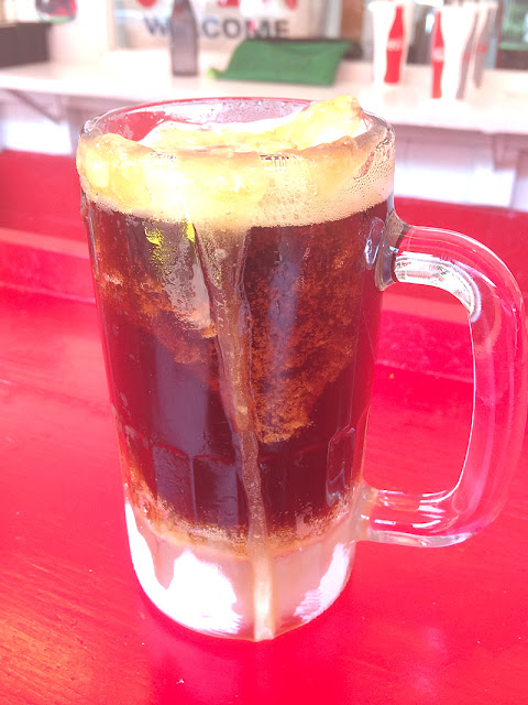 Root Beer at The Drive In in Taylors Falls