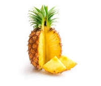Are pineapples high in sugar