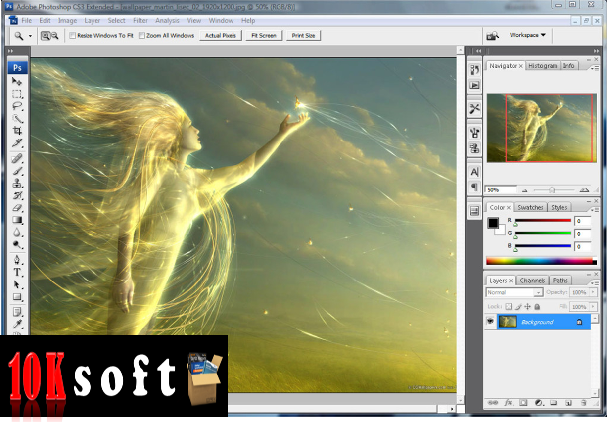 Adobe Photoshop CS3 Free Download direct download link