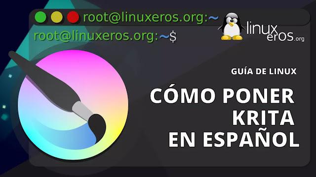 Cómo poner Krita en idioma español