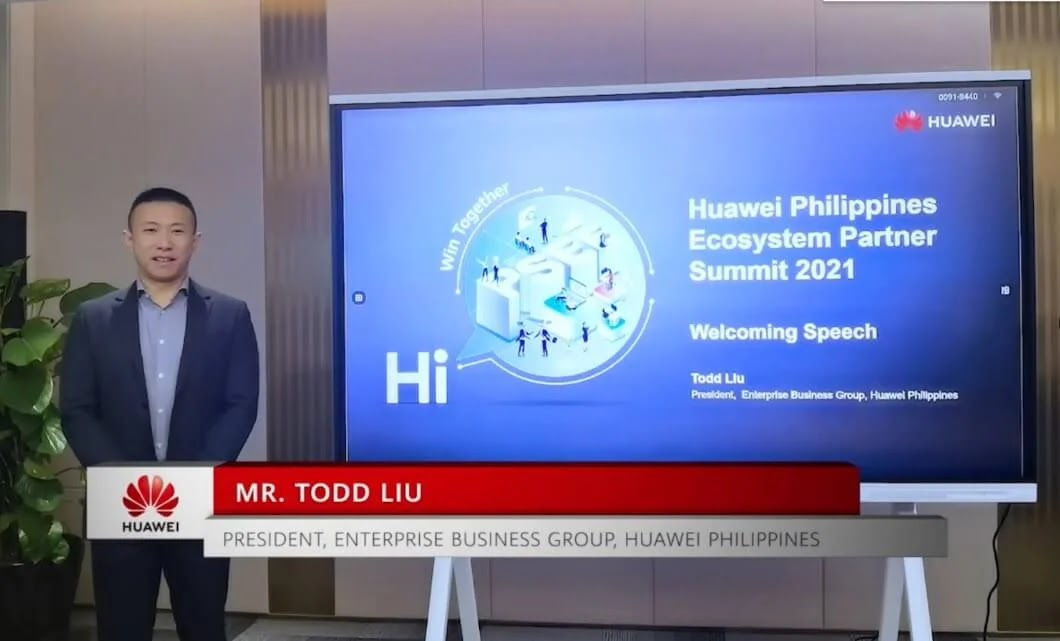 Huawei Philippines Ecosystem Partner Summit 2021; New Value Together, Win Together