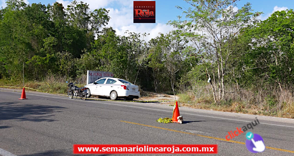 Ejecutan a taxista de Chiquilá en la carretera Tulum-Cobá