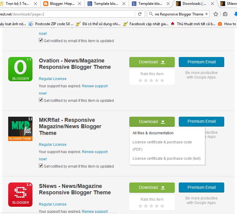 Template blogspot blogger đẹp, chuyên nghiệp chuẩn SEO miễn phí