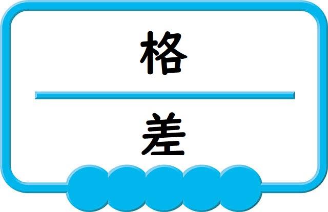 格差のロゴ