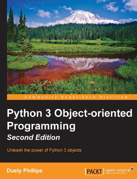 Python 3 Object-Oriented Programming, Second Edition