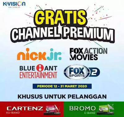 Inilah 4 chanel FTV k vision Bromo dan Cartenz