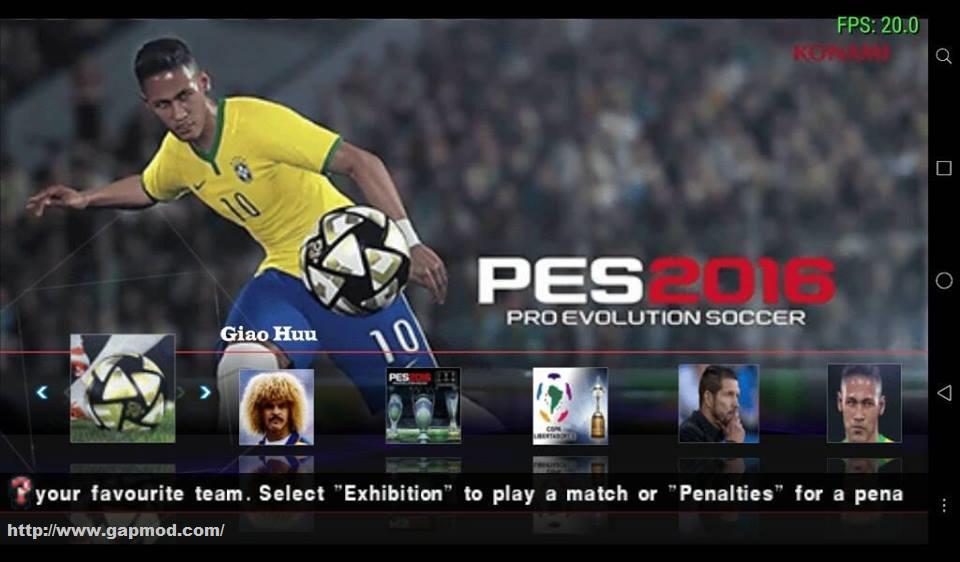 Pro evolution soccer 2017 apk free download.