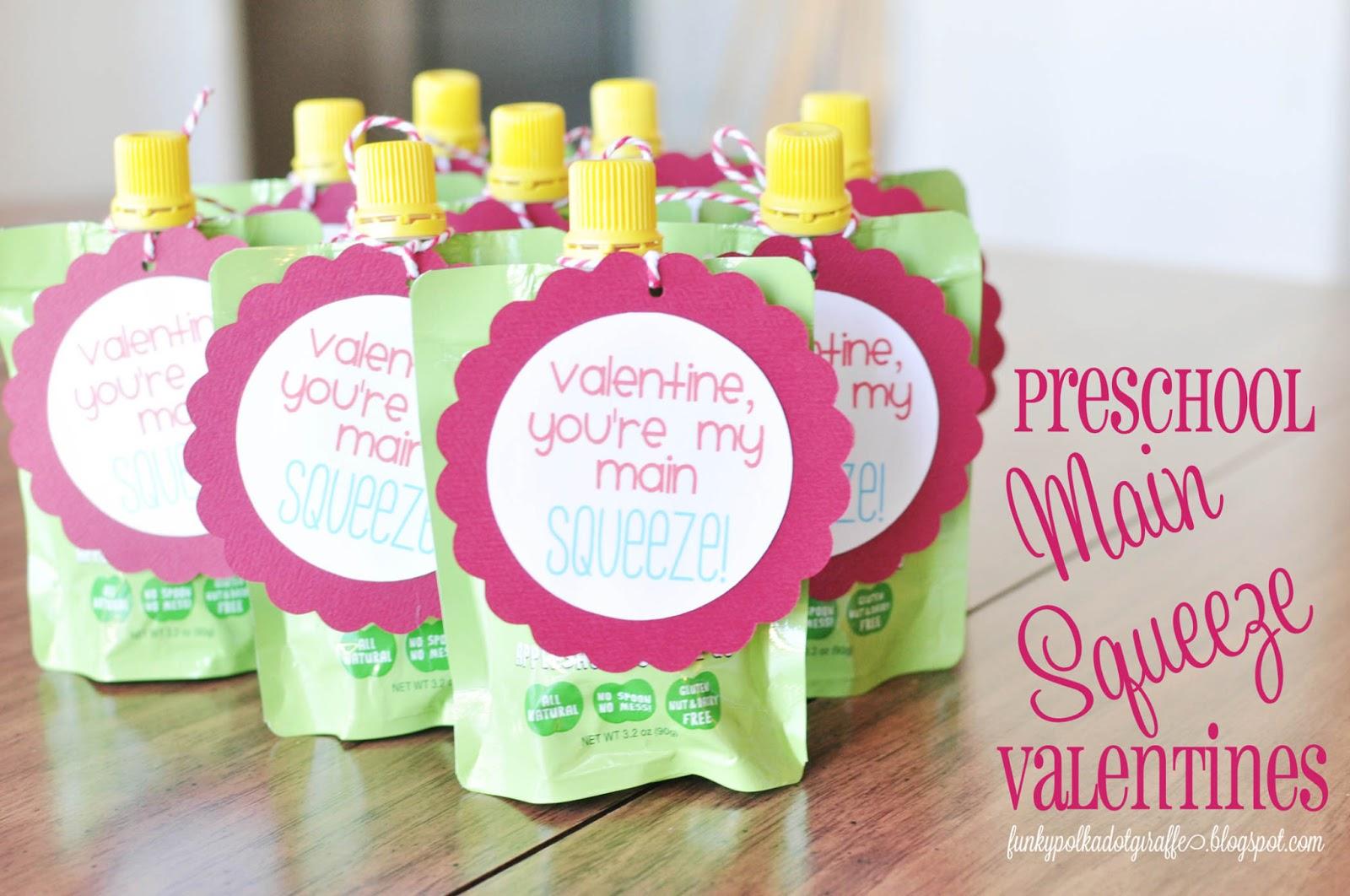 Funky Polkadot Giraffe Preschool Valentines You Re My