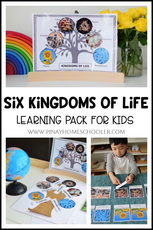 INTRODUCING THE SIX KINGDOMS OF LIFE TO KIDS