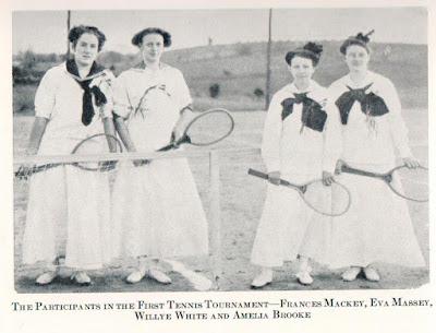 Normal School Tennis tournament 1910 https://jollettetc.blogspot.com
