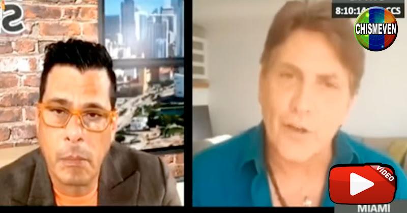 Víctor Cámara se defiende y con una risita nerviosa dice que no es Enchufado ni Chavista