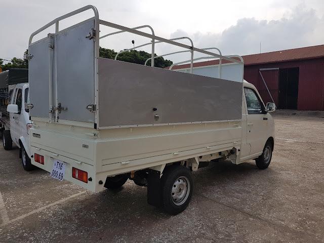 Thùng mui bạt xe tải Kenbo 990Kg