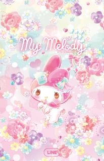 LINE My Melody(百花齊放篇)免費主題