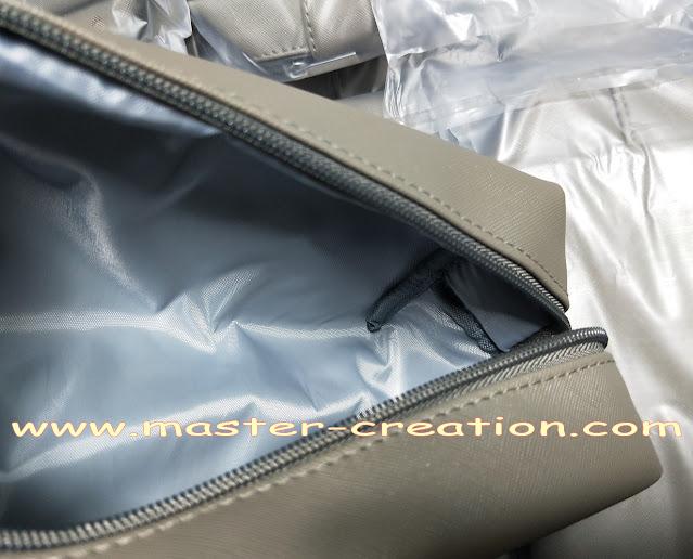 cosmetic bag lining