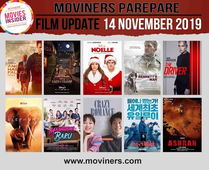 FILM UPDATE 14 NOVEMBER 2019
