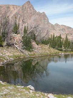 Alp Lake area, Montana
