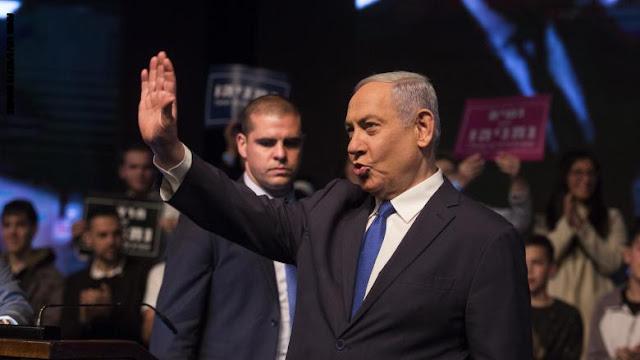 """الانتخابات الإسرائيلية.. نتنياهو يعلن انتصاره وغانتس """"مُحبط"""".. وأيهما لن يشكل حكومة مُنفردًا"""