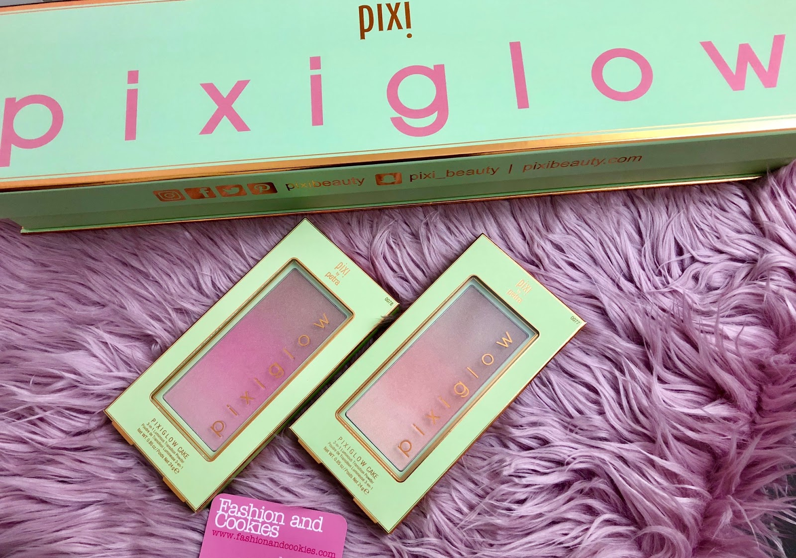 PixiGlow Cake palettes: new from Pixi Beauty for a radiant complexion on Fashion and Cookies beauty blog