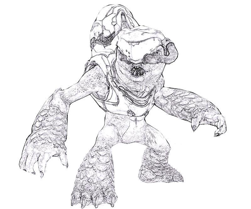 Halo 4 Art Sketch Yumiko Fujiwara