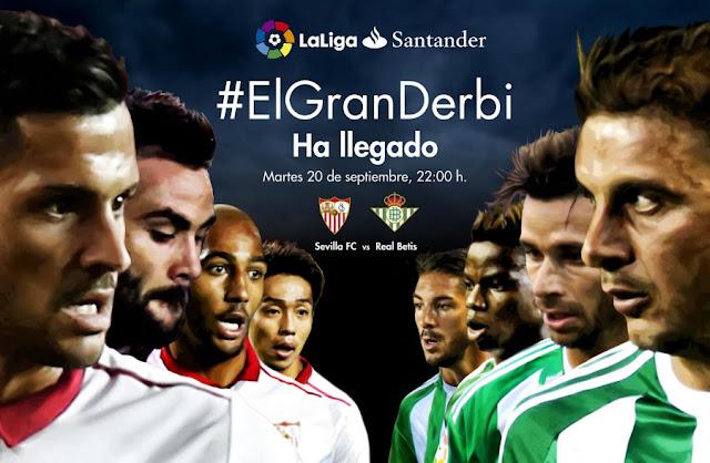 Sevilla y Betis se unieron para promocionar #ElGranDerbi