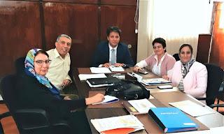 المدير الاقليمي للتعليم بتطوان يعقد لقاء تواصليا مع الجمعية المغربيية لمدرسي اللغة الفرنسية (فرع تطوان)