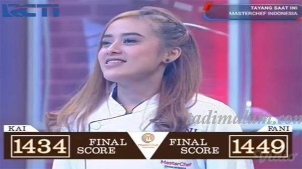 Fani Yang Menang Juara Master Chef Indonesia 2019