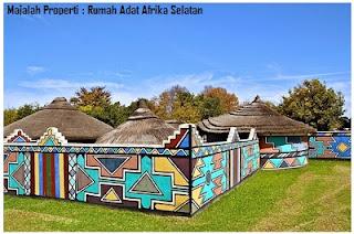 Desain Bentuk Rumah Adat Afrika Selatan dan Penjelasannya, Budaya