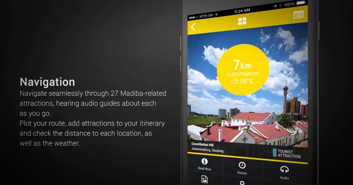 Il Centerario di Nelson Mandela con una app mappa turistica gratuita | Sudafrica