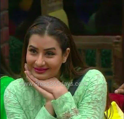 Shilpa Shinde in Green Net Suit