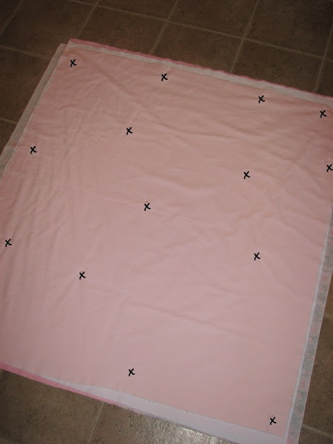 diy faux chenille blanket