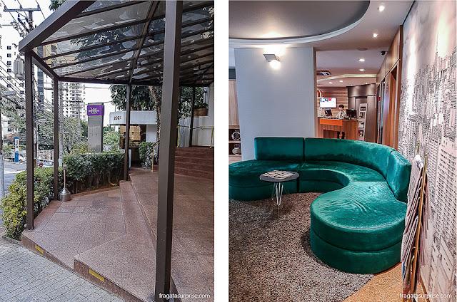 Recepção do Hotel Mercure São Paulo Alamedas