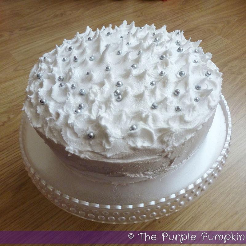 Cake Icing Using Egg Whites Sugar Water