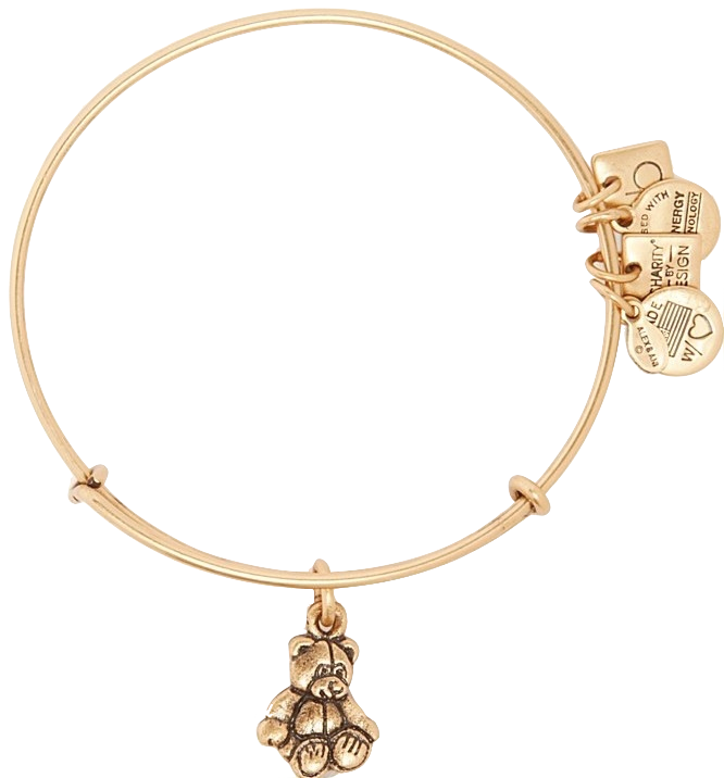 Preferred Alex & Ani Little Brown Bear - Bowtiful Life UU74