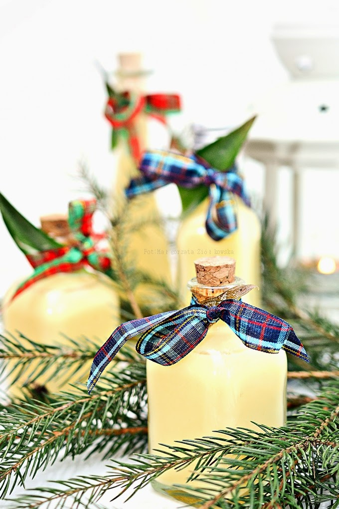 Świąteczny ajerkoniak pinacolada