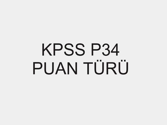 kpss p34 puanı