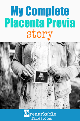 At 20 weeks pregnant, an ultrasound showed that I had a complete placenta previa. Here is the story of everything that followed, including pelvic rest, bleeding, hospital bed rest, and an emergency C-section. Dealing with a pregnancy complication like complete placenta previa and all its risks was not easy, so I hope stories like mine let you know you aren't alone. #completeplacentaprevia #20weeks #placentaprevia #pregnancy #csection