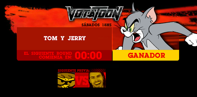 Votatoon de la Semana - Tom y Jerry