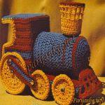 patron gratis tren thomasamigurumi | free amigurumi pattern mi, train thomas