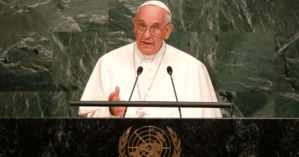 Paus Fransiskus, PBB